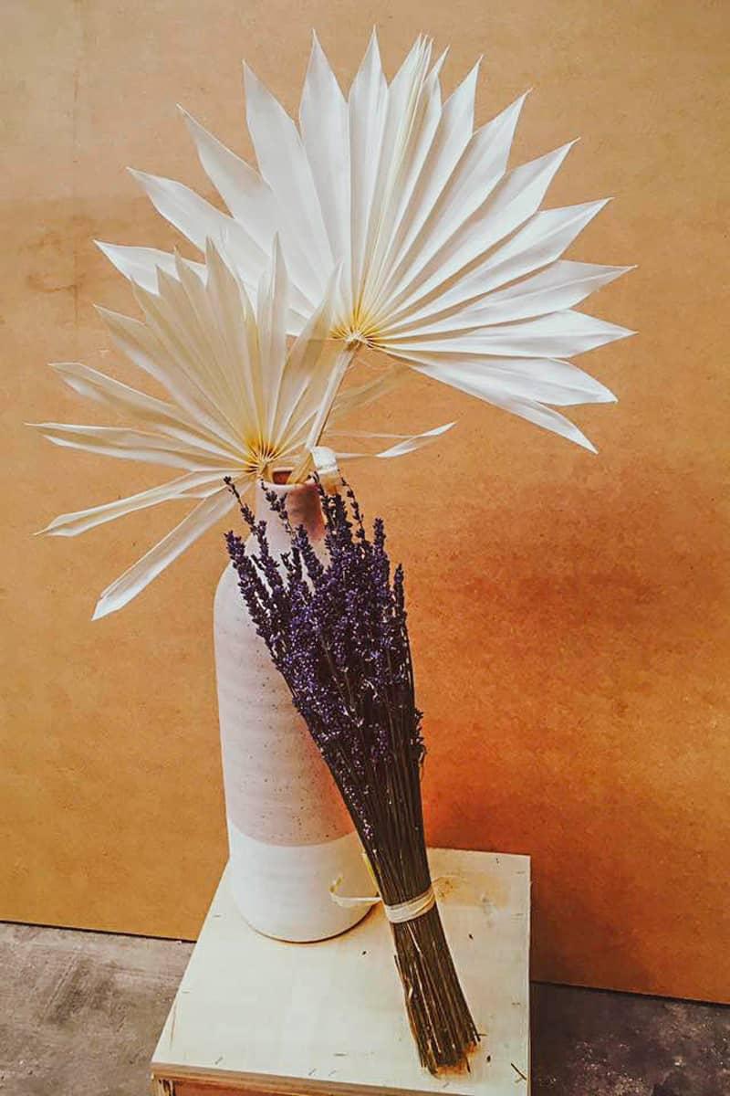 3abcrea-Composition de fleurs séchées